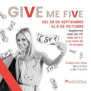 Give Me Five y llévate un carro de la compra