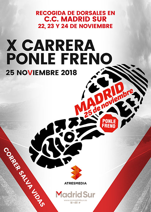 Carrera Ponle Freno en Madrid Sur de Vallecas