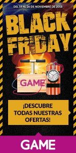 Game Black Friday Madrid Sur Vallecas
