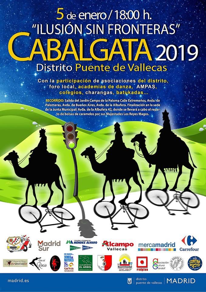 Cabalgata de Reyes Puente de Vallecas 2019